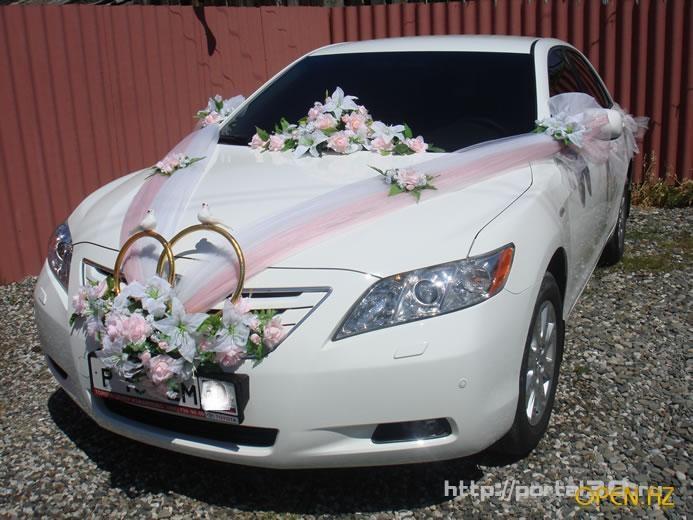 Как сделать украшение на свадьбу на машину своими руками