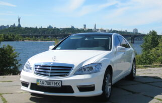 Mercedes-Benz (W221L) WHITE