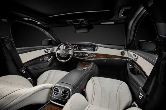 Mercedes-Benz S 500 W222 салон