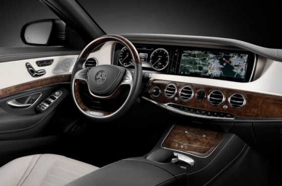 Mercedes-Benz S 500 W222 руль